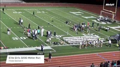 High School Girls' 3200m Elite, Finals 1