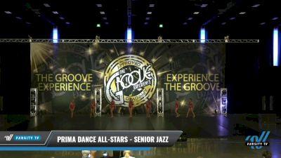 Prima Dance All-Stars - Senior Jazz [2021 Senior - Jazz - Small Day 2] 2021 Groove Dance Nationals
