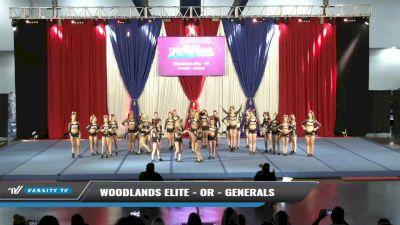Woodlands Elite - OR - Generals [2021 L6 Senior - Medium Day 1] 2021 The American Spectacular DI & DII