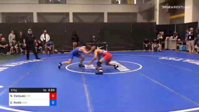57 kg Prelims - Nain Vazquez, Izzy Style Wrestling vs Drake Ayala, Sebolt Wrestling Academy