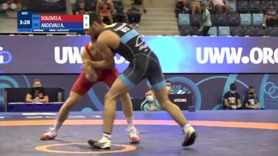71 kg Final 1-2 - Alexandru Solovei, Moldova vs Alireza Morad Abdevali, Iran