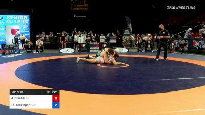 79 kg Rnd Of 16 - Joshua Shields, Sunkist Kids Wrestling Club vs Alex Dieringer, Titan Mercury Wrestling Club