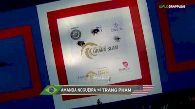 Amanda Nogueira vs Trang Pham 2018 Abu Dhabi Grand Slam Los Angeles