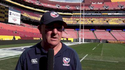 USA Eagles Head Coach Gary Gold Previews 1874 Cup