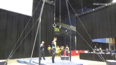 Nick Smiley - Still Rings, UIC - 2021 Men's Collegiate GymACT Championships