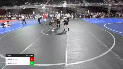 116 lbs Quarterfinal - Jermaine Dortch, Ready RP vs Jordan Bylund, Rco