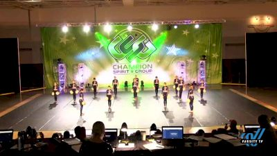Champion Legacy - Youth Elite Pom [2021 Youth - Pom - Large Day 3] 2021 CSG Dance Nationals