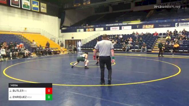 149 lbs JAKE BUTLER, OU vs JADEN ENRIQUEZ, MSU