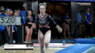 Maddi Nilson - Vault, Boise State - 2019 NCAA Gymnastics Regional Championships - Oregon State