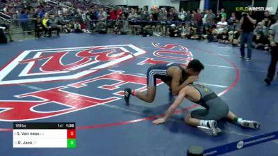 126 lbs Final - Shayne Van Ness, NJ vs Ryan Jack, CT