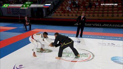 Ricardo Evangelista vs Khasan Varando Abu Dhabi World Professional Jiu-Jitsu Championship