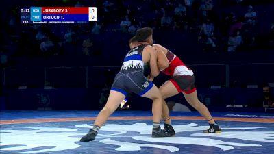 87 kg Final 3-5 - Shakhriyor Juraboev, Uzbekistan vs Tansel Can Ortucu, Turkey
