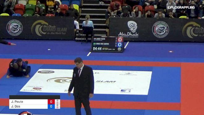 Jordy Peute vs Jorge Dos Santos 2019 Abu Dhabi Grand Slam London
