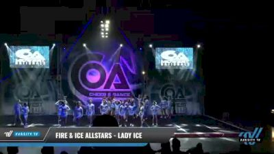 Fire & Ice Allstars - Lady Ice [2021 L6 Senior Open Day 1] 2021 COA: Midwest National Championship