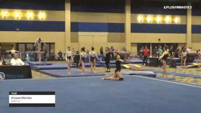 Alyssa Manley - Vault, Gold Cup - 2019 Brestyan's Las Vegas Invitational