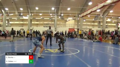 Quarterfinal - Cole Burke, The Citadel vs Donald Cates, Unattached