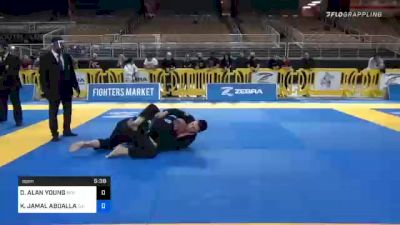 DEREK ALAN YOUNG vs KHALID JAMAL ABDALLAN BAZZAR 2020 World Master IBJJF Jiu-Jitsu Championship