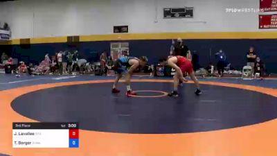 74 kg 3rd Place - Joey Lavallee, Titan Mercury Wrestling Club (TMWC) vs Tyler Berger, Sunkist Kids Wrestling Club