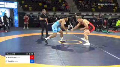 92 kg Prelims - Kash Anderson, Colorado Mesa Wrestling Club vs Scottie Boykin, TMWC/ Spartan Combat RTC