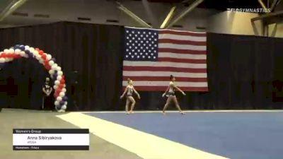 Anna Sibiryakova - Women's Group, WOGA - 2021 USA Gymnastics Championships