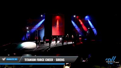 Titanium Force Cheer - Sirens [2021 L2 Junior - D2 - Small Day 3] 2021 ASCS: Tournament of Champions & All Star Prep Nationals