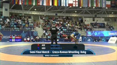 80 kg 1/2 Final - Joju Samadov, Azerbaijan vs Achiko Bolkvadze, Georgia