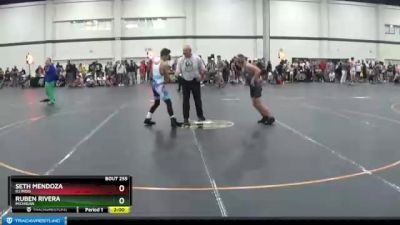 105 lbs Champ. Round 2 - Seth Mendoza, Illinois vs Ruben Rivera, Michigan