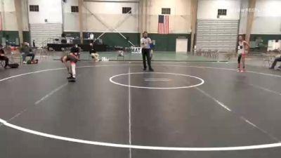 65 lbs Final - Casen Becker, Black Fox Academy vs Easton Weidner, 2 Tuff Gym