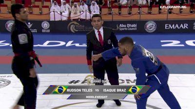 Rudson Mateus Sarmento Teles vs Isaque Braz 2019 Abu Dhabi King of Mats