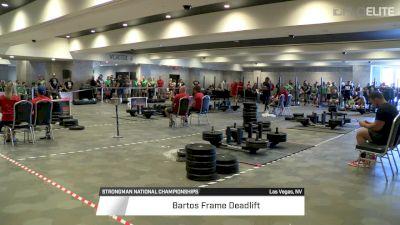 2017 Strongman Nationals Lightweight Women's Frame Deadlift