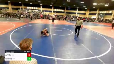 65 lbs Round Of 32 - Alexander Villa, Pride Wrestling vs Bella Reyes, Top Dog WC
