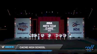 - Cache High School [2019 Game Day Cheer - Small High School Day 1] 2019 NCA North Texas Classic
