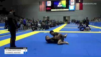 GESIAS CAVALCANTE SOUZA vs PAULO GABRIEL MARTINS DA COSTA 2021 World IBJJF Jiu-Jitsu No-Gi Championship