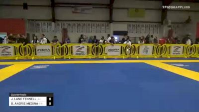 JOHNATHAN LANE FENNELL vs BRANDON ANDRIE MEDINA 2020 Houston International Open IBJJF Jiu-Jitsu Championship