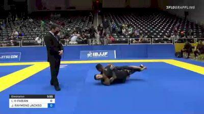 ISMAEL UBALDO HERNANDEZ-FABIAN vs JOSHUA RAYMOND JACKSON 2021 World IBJJF Jiu-Jitsu No-Gi Championship