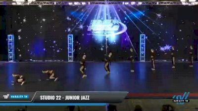 Studio 22 - Junior Jazz [2021 Junior - Prep - Jazz Day 2] 2021 The U.S. Finals: Phoenix