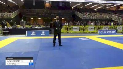 MATTHEW W LEIGHTON vs MELOR STURUA 2021 Pan Jiu-Jitsu IBJJF Championship