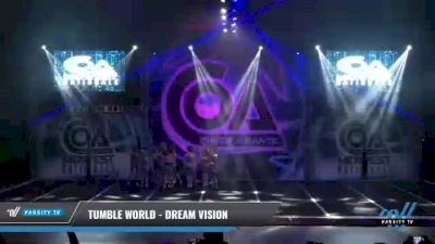 Tumble World - Dream Vision [2021 L3 Youth - D2 Day 1] 2021 COA: Midwest National Championship