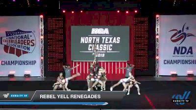 - Rebel Yell Renegades [2019 Senior Coed - Medium 4 Day 1] 2019 NCA North Texas Classic