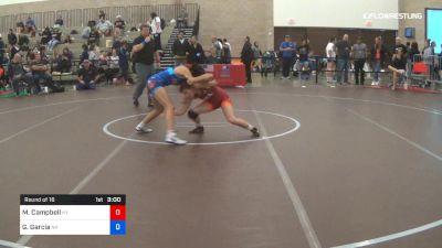 50 kg Round Of 16 - Mckayla Campbell, Team Kentucky vs Gisell Garcia, Team Nevada