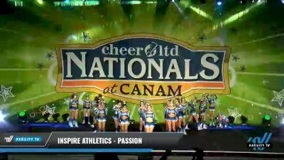 Inspire Athletics - Passion [2021 L5 Senior Day 1] 2021 Cheer Ltd Nationals at CANAM