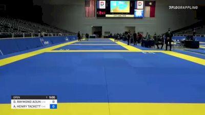 DORY RAYMOND AOUN vs ANDREW HENRY TACKETT 2021 World IBJJF Jiu-Jitsu No-Gi Championship