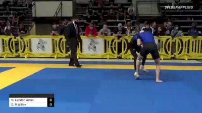Nicolas Landon Arnel vs Dylan R Willey 2021 Pan IBJJF Jiu-Jitsu No-Gi Championship
