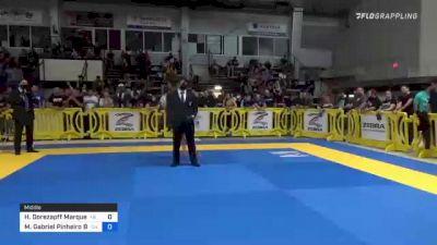 Hugo Dorezapff Marques vs Matheus Gabriel Pinheiro Barros 2021 Pan IBJJF Jiu-Jitsu No-Gi Championship