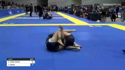 FFION EIRA DAVIE vs TAYLOR BIAGI 2021 World IBJJF Jiu-Jitsu No-Gi Championship