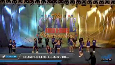 Champion Elite Legacy - Cheer Abilities [2021 L2 - CheerABILITIES - Exhibition Day 1] 2021 The STATE DI & DII Championships