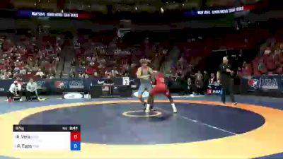 87 kg Round 1 - Alan Vera, New York Athletic Club vs Ryan Epps, Minnesota Storm