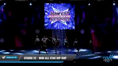 Studio 22 - Mini All Star Hip Hop [2021 Mini - Hip Hop - Small Day 2] 2021 JAMfest: Dance Super Nationals