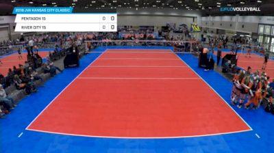 Pentagon 15 vs River City 15 - 2018 JVA Kansas City Classic, U15