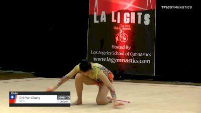Chi-Yun Chang - Clubs, RSTA - 2020 LA Lights Tournament of Champions